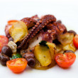 Grilled octopus — Stock Photo #12722214