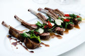 Grilled lamb chops — Foto de Stock