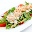 Salad with shrimps — Stock Photo #12744179