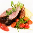 Stock Photo: Duck fillet