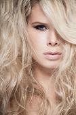 Tangled hair — Stock Photo