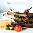 Grilled lamb — Stock Photo #22993196
