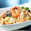 Seafood pasta — Stock Photo #22993430