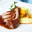 Roasted duck — Stock Photo #22993898
