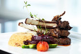 Grilled lamb — Foto de Stock