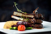 Grilled lamb — Foto Stock