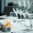 Served table — Stock Photo