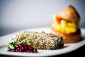 Pork schnitzel — Zdjęcie stockowe