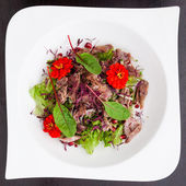 Warm duck salad — Stockfoto