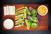 Fresh vegetables selection — Stock Photo