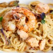Seafood pasta — Stock Photo #42028001