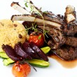 Grilled lamb — Stock Photo #42028145