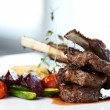 Grilled lamb — Stock Photo #42028159