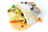 Fried whitefish — Stock Photo