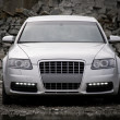 Top-front view of a luxury car — Stock Photo #9603143