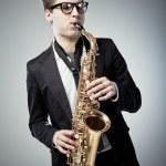 Saxophone — Stock Photo #9747641