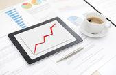 Success business report — Stock Photo