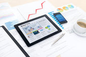 新技術と近代的なビジネス — ストック写真