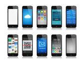 Colección smartphone — Foto de Stock