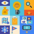 Internet marketing icons — Stock vektor
