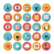 SEO and web icons set — Stockvektor #36190333