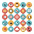 SEO and web icons set — Stock Vector
