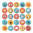 SEO and web icons set — Cтоковый вектор