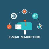 E-mail marketing — Stock Vector