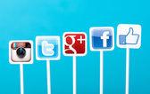 Social media marketing concept — Stock Photo