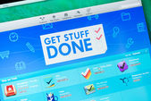 Get stuff done apps on App Store — Stock Photo