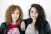 Dívka přátelé — Stock fotografie