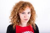 Casual redhead — Stock Photo