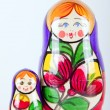 Matryoshka dalls — Stock Photo