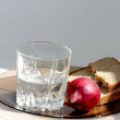 A glass of vodka - Stockfoto