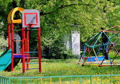 City children's Playground in the Park — Foto de Stock