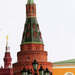 Towers of Kremlin — Stock Photo