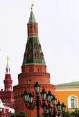 Tornen i kreml — Stockfoto