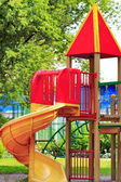 City children's Playground in the Park — Stock Photo