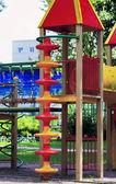 City children's Playground in the Park — Stockfoto