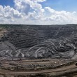 Panorama of opencast mine — Stock Photo