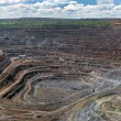 Постер, плакат: Panorama of opencast mine