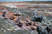 Explosión en mina de cielo abierto — Foto de Stock