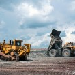 Stock Photo: Open cast mine