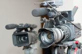 Video camera — Stock Photo