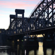 Finland Railway bridge at dawn — Stock Photo #12613167