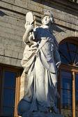 Statue near the Gatchina Palace — Stock Photo