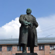 Royalty-Free Stock Photo: Lenin statue in Vyborg