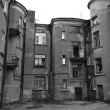Old home in Vyborg — Stock Photo