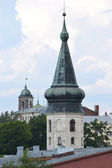 Medieval tower in Vyborg — Stock Photo