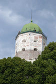 Tower of the medieval castle — Stock Photo